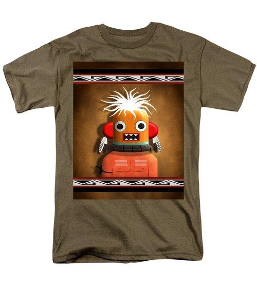 Hopi Indian Kachina Men's T-Shirt  (Regular Fit) by John Wills