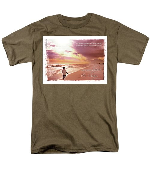 Horizon Of Hope Men's T-Shirt  (Regular Fit) by Marie Hicks