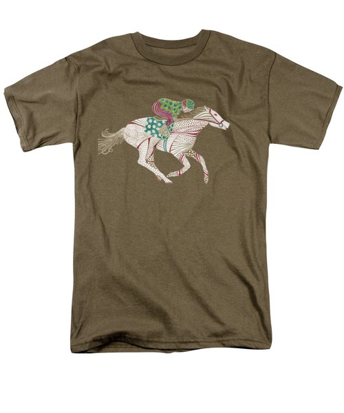 Horse Racer Men's T-Shirt  (Regular Fit)