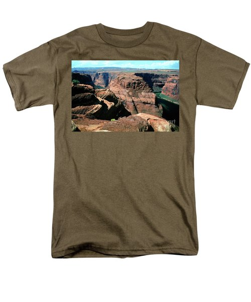 Horseshoe Bend Of The Colorado River Men's T-Shirt  (Regular Fit) by Wernher Krutein