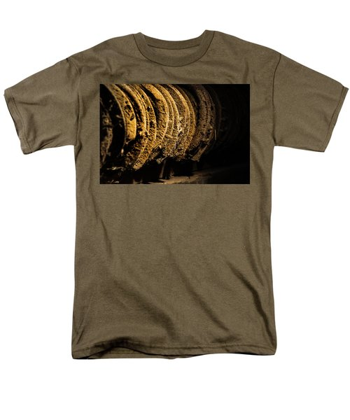 Men's T-Shirt  (Regular Fit) featuring the photograph Horseshoes by Jay Stockhaus