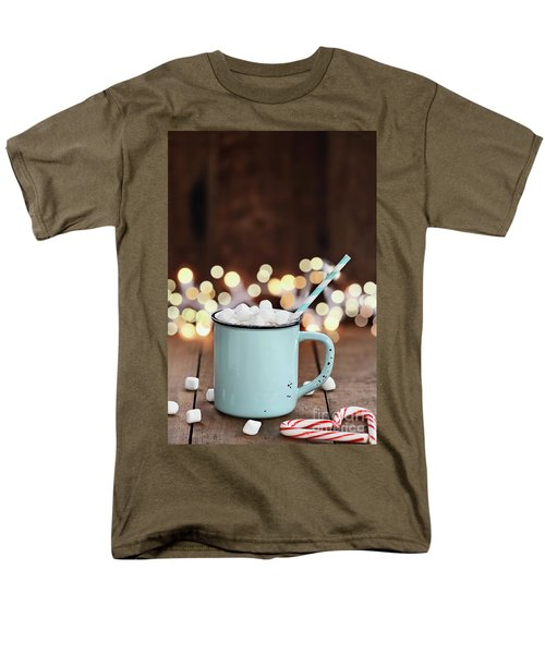 Hot Cocoa With Mini Marshmallows Men's T-Shirt  (Regular Fit)