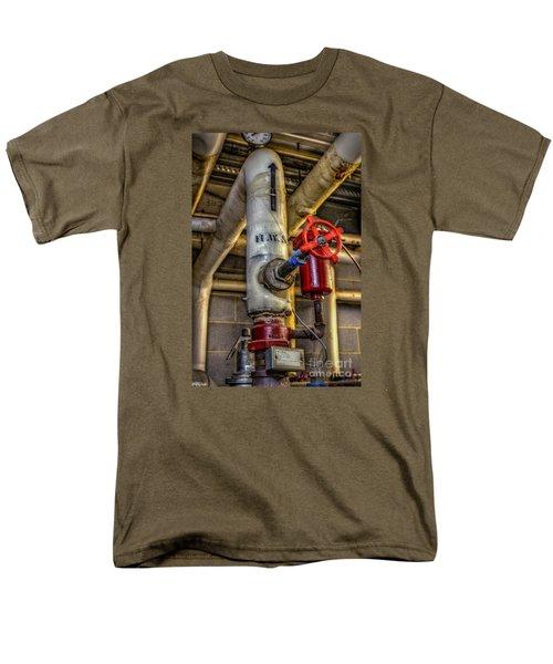 Hot Water Supply Men's T-Shirt  (Regular Fit) by Dan Stone