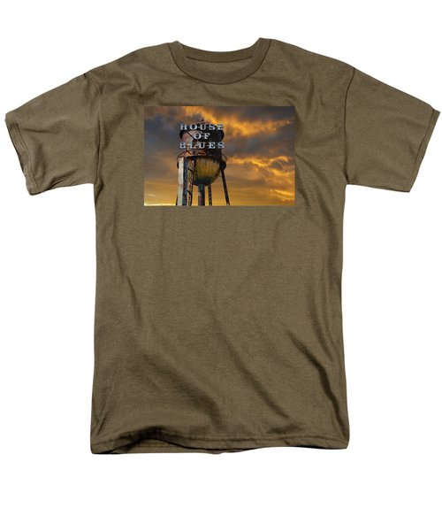Men's T-Shirt  (Regular Fit) featuring the photograph House Of Blues  by Laura Fasulo