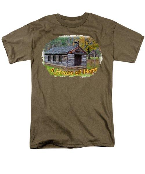 House Of Hope Men's T-Shirt  (Regular Fit) by John M Bailey