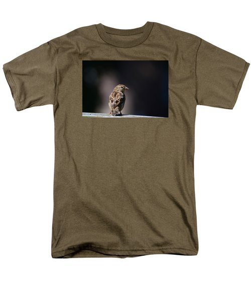House Sparrow Men's T-Shirt  (Regular Fit) by Kathy Eickenberg