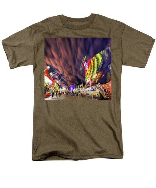 Houston Texas Live Stock Show And Rodeo #3 Men's T-Shirt  (Regular Fit) by Micah Goff