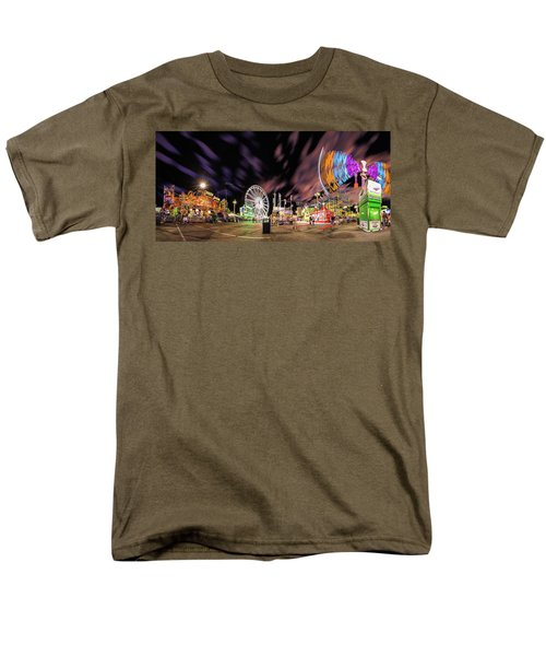 Houston Texas Live Stock Show And Rodeo #4 Men's T-Shirt  (Regular Fit) by Micah Goff