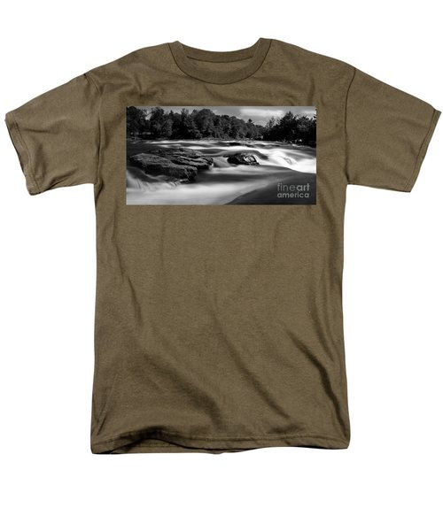 Hudson River Solice Men's T-Shirt  (Regular Fit) by Darleen Stry