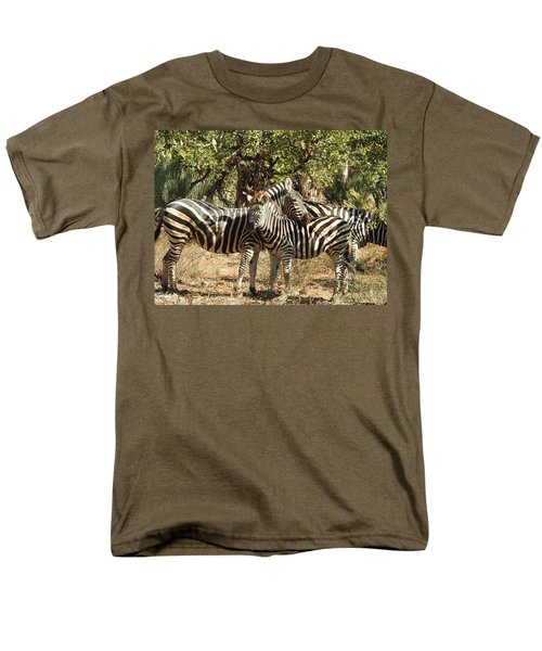 Men's T-Shirt  (Regular Fit) featuring the photograph Hug Time by Betty-Anne McDonald