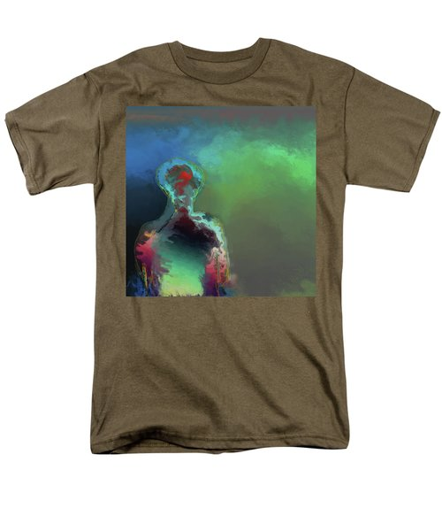 Humanoid In The Fifth Dimension Men's T-Shirt  (Regular Fit)