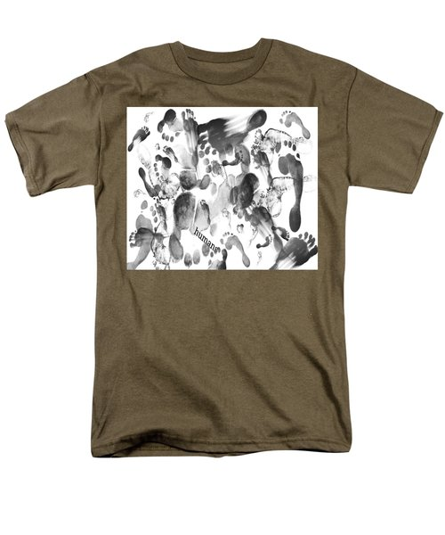 Humans Men's T-Shirt  (Regular Fit)