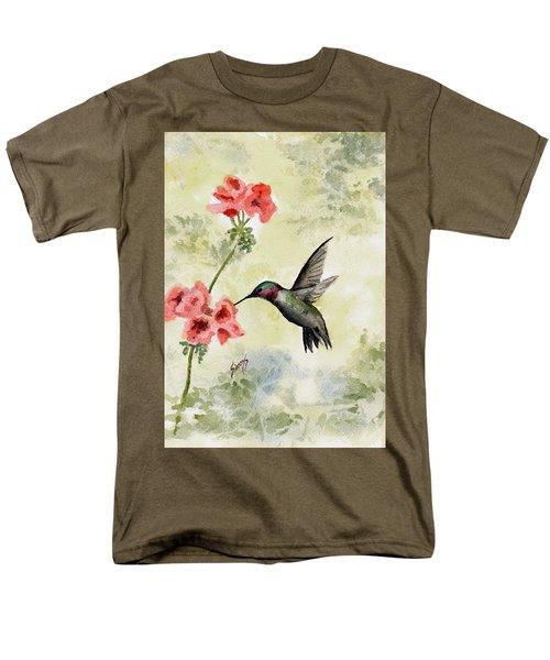 Hummingbird Men's T-Shirt  (Regular Fit) by Sam Sidders