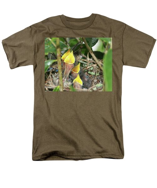 Hungry Baby Birds Men's T-Shirt  (Regular Fit) by Jerry Battle