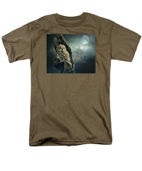 Men's T-Shirt  (Regular Fit) featuring the photograph Hunter's Moon by Brian Tarr