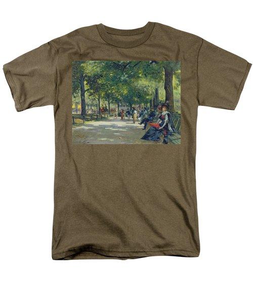 Hyde Park - London  Men's T-Shirt  (Regular Fit) by Count Girolamo Pieri Nerli