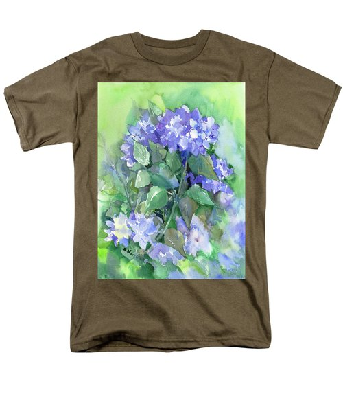 Hydrangea Men's T-Shirt  (Regular Fit) by Suren Nersisyan