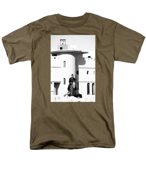 I Gotta Leave This Town Men's T-Shirt  (Regular Fit) by Jez C Self