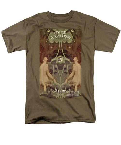 I Have Heard The Mermaids Singing Men's T-Shirt  (Regular Fit) by Lora Serra