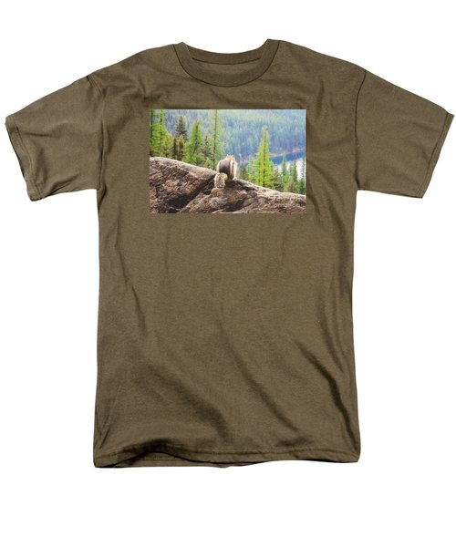 Men's T-Shirt  (Regular Fit) featuring the photograph I Love My Home by Janie Johnson