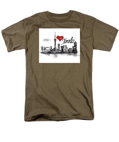 I Love Toronto Men's T-Shirt  (Regular Fit)