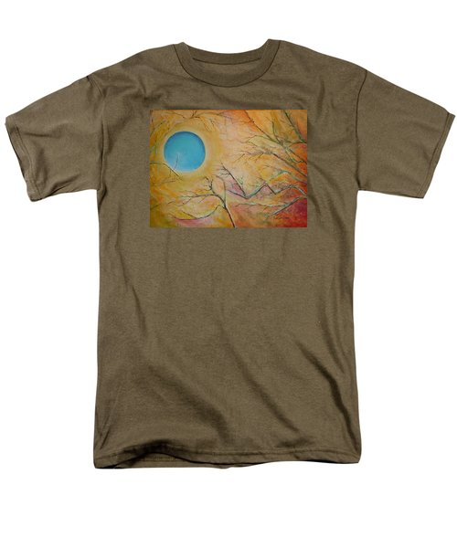 I Saw You Standing Alone Men's T-Shirt  (Regular Fit) by Dan Whittemore