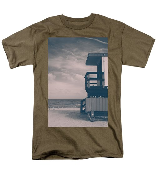 Men's T-Shirt  (Regular Fit) featuring the photograph I Was Checkin' On The Surfin' Scene by Yvette Van Teeffelen