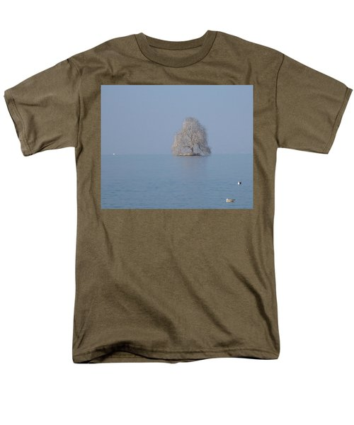 Icy Isolation Men's T-Shirt  (Regular Fit) by Christin Brodie