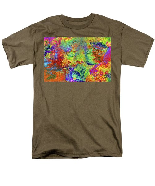 Men's T-Shirt  (Regular Fit) featuring the photograph Icy Kaleidoscope by Tony Beck