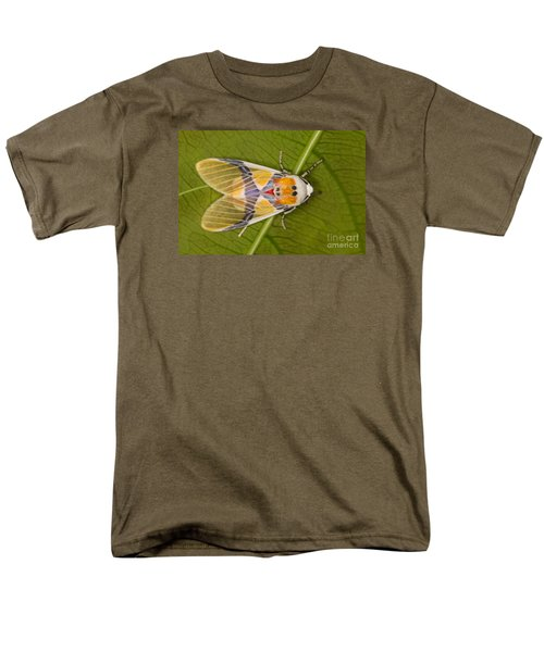 Men's T-Shirt  (Regular Fit) featuring the photograph Idalus Carinosa Moth by Gabor Pozsgai