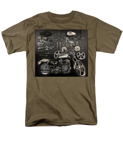 Men's T-Shirt  (Regular Fit) featuring the photograph If Bling Is Your Thing by Randy Scherkenbach