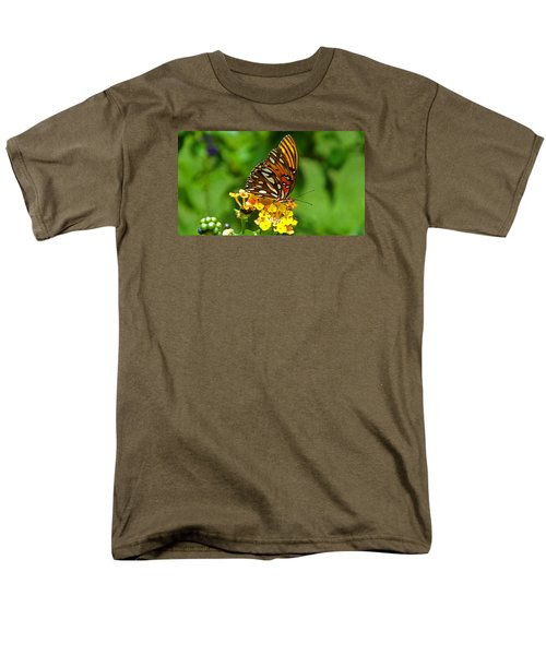 Illuminated Men's T-Shirt  (Regular Fit) by Judy Wanamaker