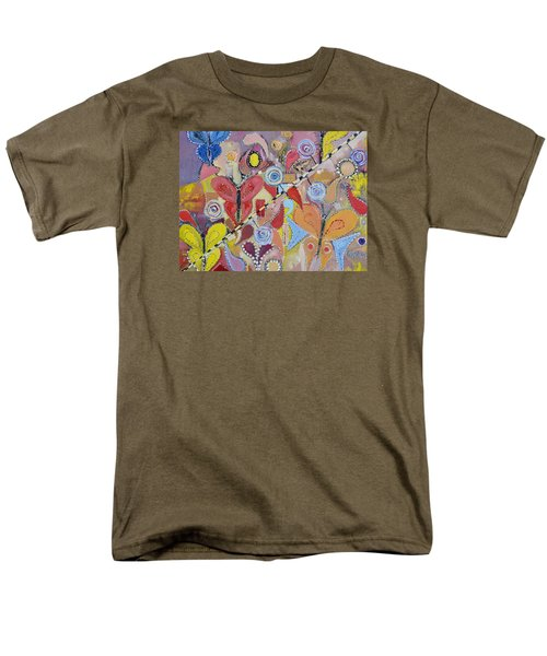 Imagination Land Men's T-Shirt  (Regular Fit) by Evelina Popilian