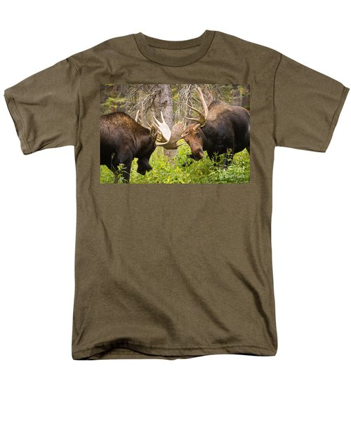 Men's T-Shirt  (Regular Fit) featuring the photograph The Approach  by Aaron Whittemore