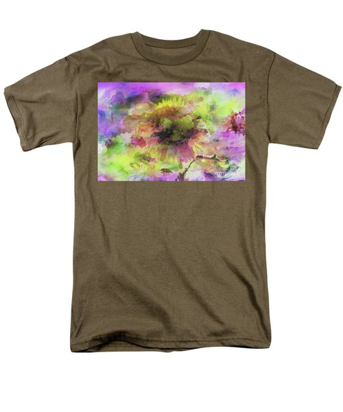Impression Sunflower Men's T-Shirt  (Regular Fit) by Geraldine DeBoer