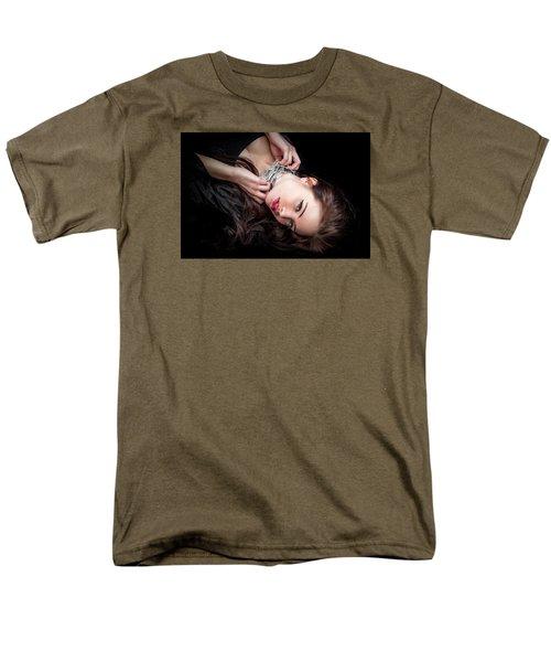 In Chains Men's T-Shirt  (Regular Fit) by Rikk Flohr