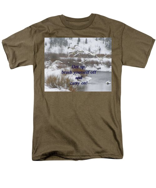 In Flight Carry On Men's T-Shirt  (Regular Fit) by DeeLon Merritt