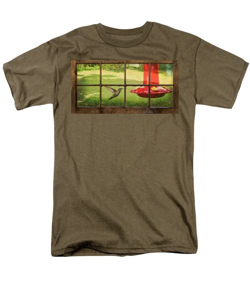 In Flight Men's T-Shirt  (Regular Fit) by Denis Lemay