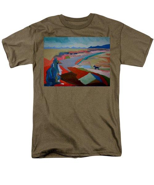 In My Land Men's T-Shirt  (Regular Fit) by Francine Frank