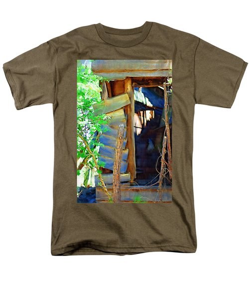 Men's T-Shirt  (Regular Fit) featuring the photograph In Shambles by Donna Bentley