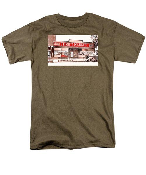 In The Beginning Men's T-Shirt  (Regular Fit) by LeAnne Sowa