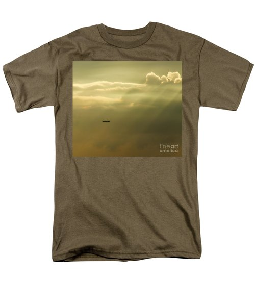 In The Clouds  Men's T-Shirt  (Regular Fit) by Christy Ricafrente
