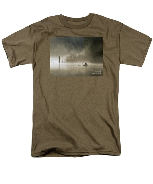 Men's T-Shirt  (Regular Fit) featuring the photograph In The Fog by Inge Riis McDonald