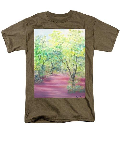 In The Park Men's T-Shirt  (Regular Fit) by Elizabeth Lock