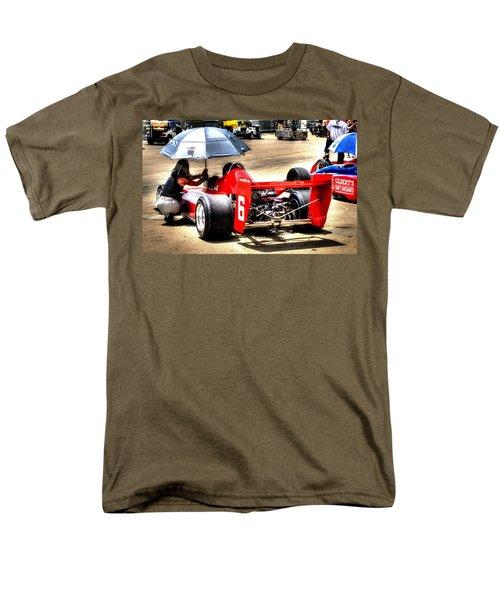 In The Queue Men's T-Shirt  (Regular Fit) by Josh Williams