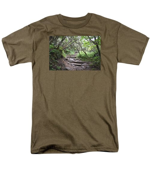 The Enchanted Forest Path Men's T-Shirt  (Regular Fit) by Gary Smith