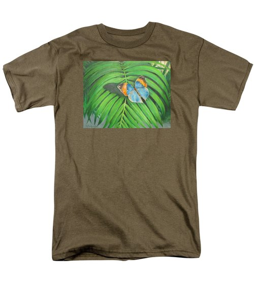 Indian Head Butterfly Men's T-Shirt  (Regular Fit) by Oz Freedgood