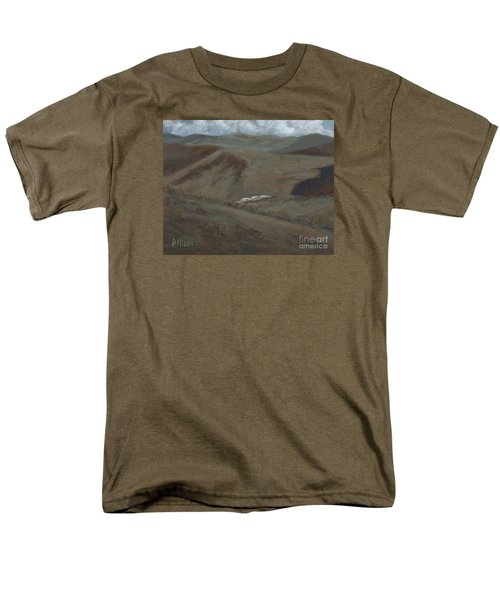 Indian Lodge - A View From The Top Ft. Davis, Tx Men's T-Shirt  (Regular Fit)