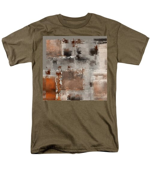 Industrial Abstract - 01t02 Men's T-Shirt  (Regular Fit) by Variance Collections