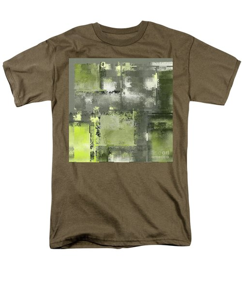 Industrial Abstract - 11t Men's T-Shirt  (Regular Fit) by Variance Collections